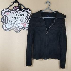 Gap Black Cardigan, size Large